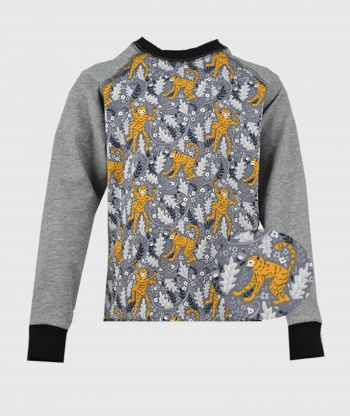 Longsleeve Monkeys Grey
