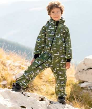 Waterproof Softshell Overall Comfy Knights Tale Jumpsuit
