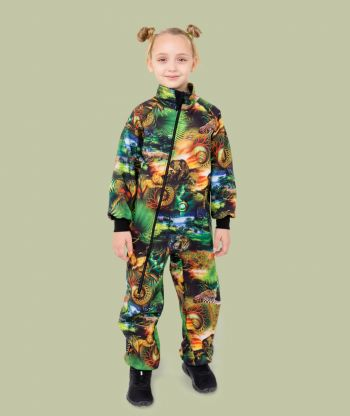 Waterproof Softshell Overall Comfy Safari Bodysuit