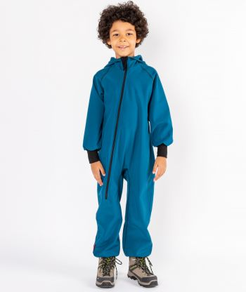 Waterproof Softshell Overall Comfy Hot Petrol Jumpsuit