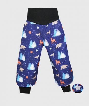 Waterproof Softshell Pants Polar Animals