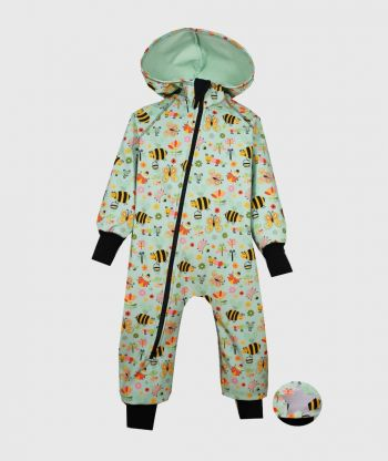 Waterproof Softshell Overall Comfy Insects World Jumpsuit